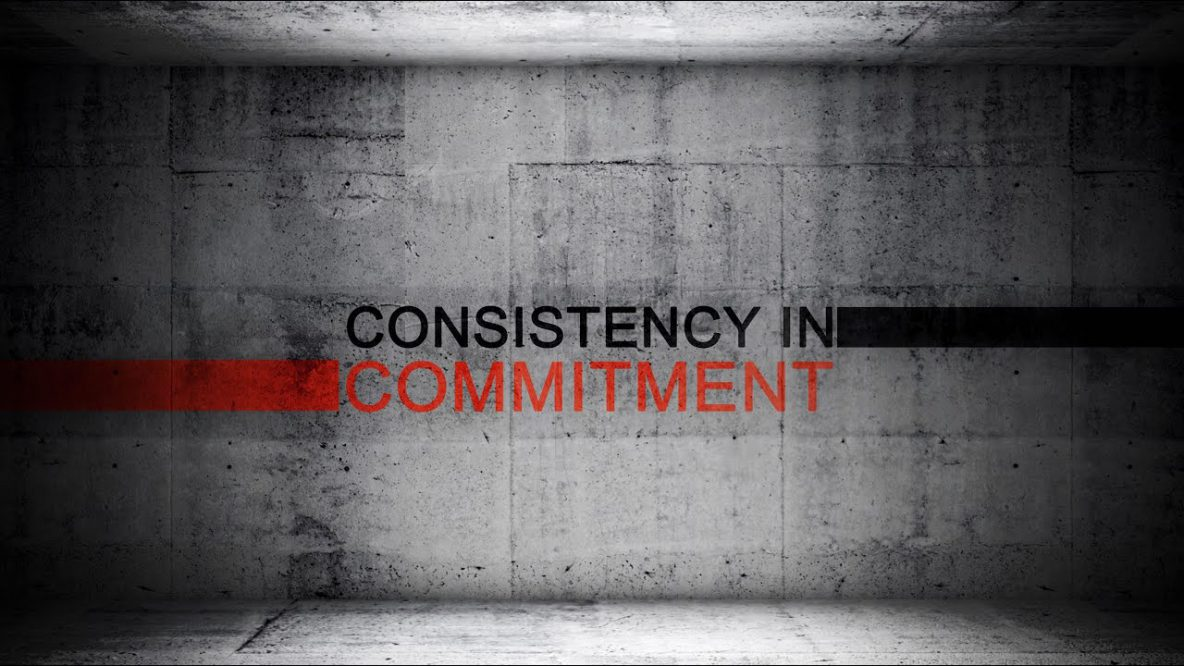 Consistency in Commitment