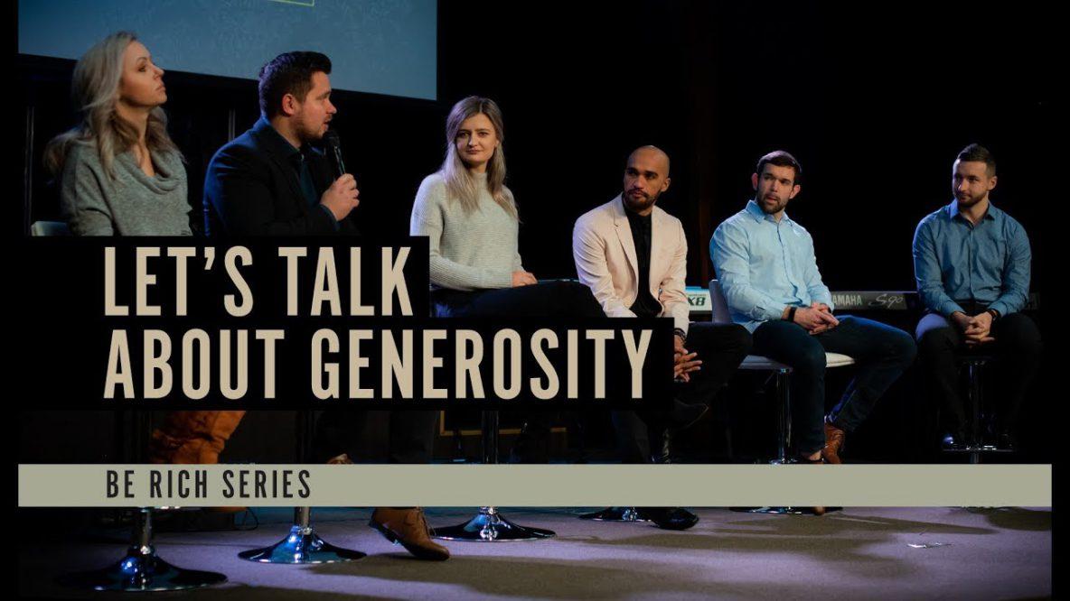 Lets Talk on Generosity