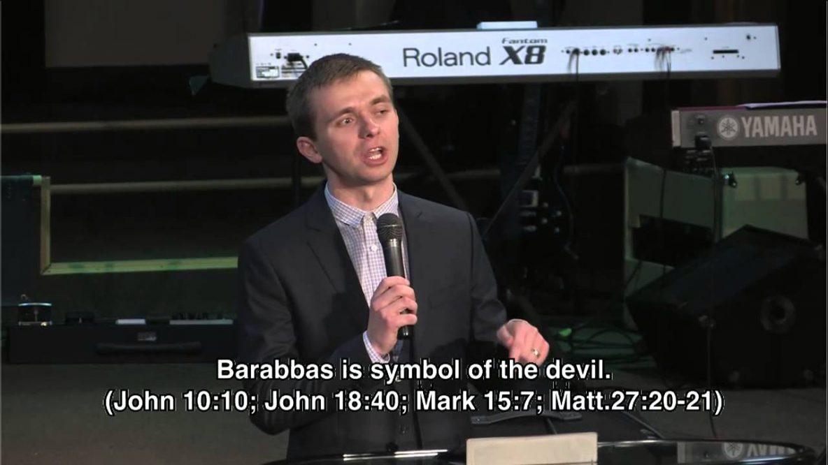 Releasing Barabbas